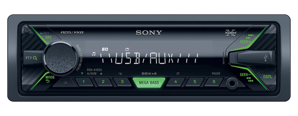 Автомагнитолы Sony