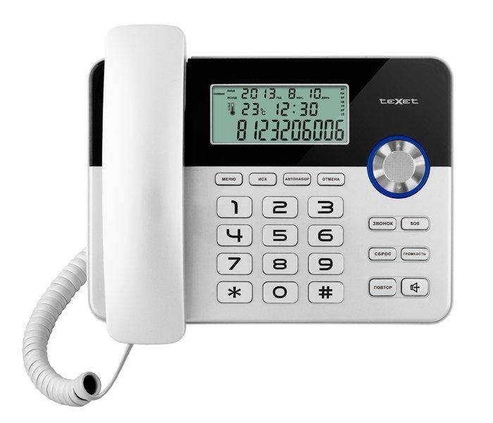 Проводные телефоны TeXet