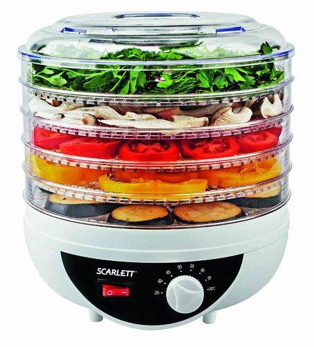 Сушилки для овощей и фруктов Scarlett Elmarket 372000.000