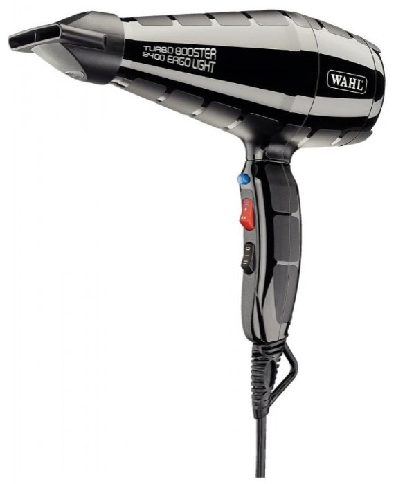 Фен  Wahl  Hair dryer TurboBooster 3400 ERGO 4314-0470 Black