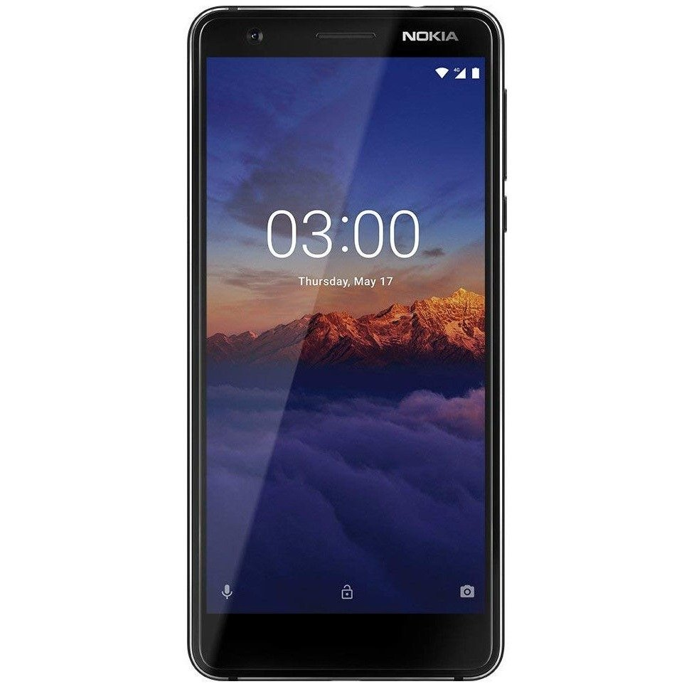 Смартфон  Nokia  3.1 DS  Black