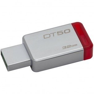 USB Flash Kingston  32GB USB 3.0 DataTraveler 50 (Metal/Red)  DT50/32GB