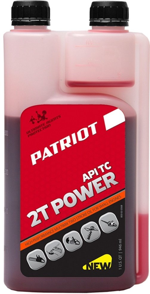 Масло Patriot POWER ACTIVE 2т 0.95 л