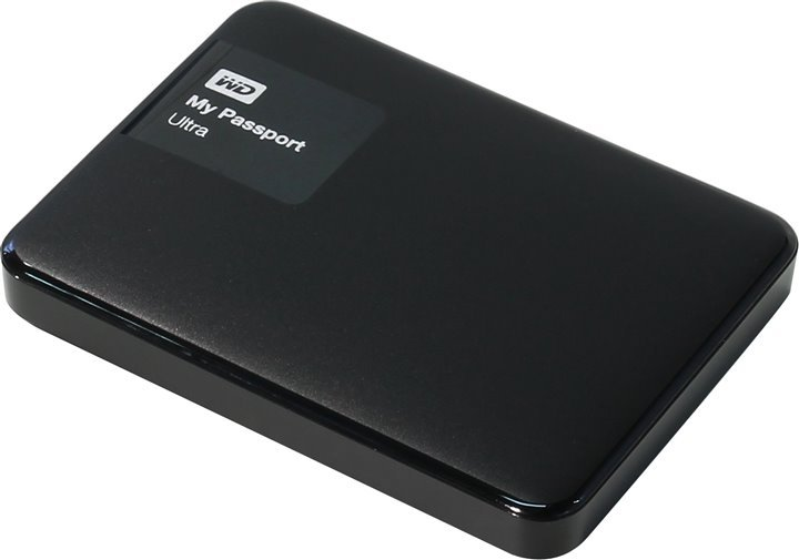 Внешний жесткий диск WD My Passport Ultra 1000Gb WDBDDE0010BBK-EEUE Black
