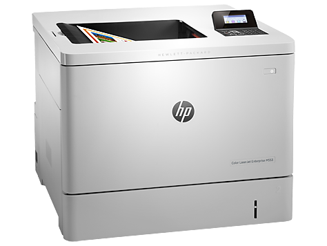 Принтер  HP Color LaserJet Enterprise M552dn белый