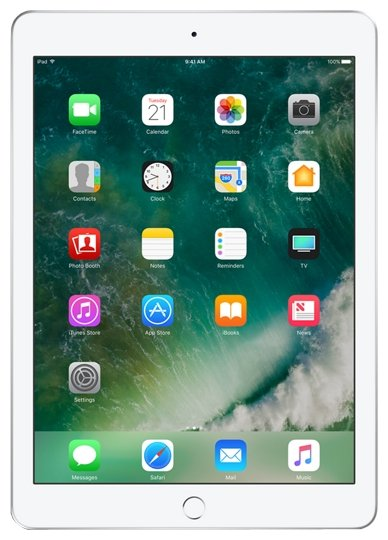 Планшет  Apple  iPad Wi-Fi + Cellular 128GB , Model A1823 MP272RK/A  Silver