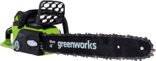 Электропила GreenWorks  G-MAX GD40CS40   (40V без АКБ)