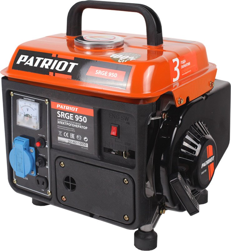 Генератор Patriot Max Power SRGE 950
