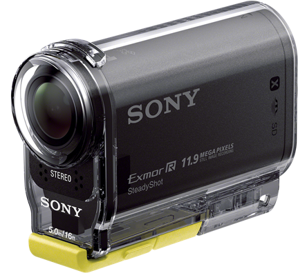 Видеокамера Sony HDR-AS30VE (влагонепроницаемый бокс в комплекте)