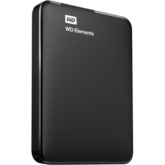 Внешний жёсткий диск  WD Elements Portable 1.5TB  WDBU6Y0015BBK-EESN