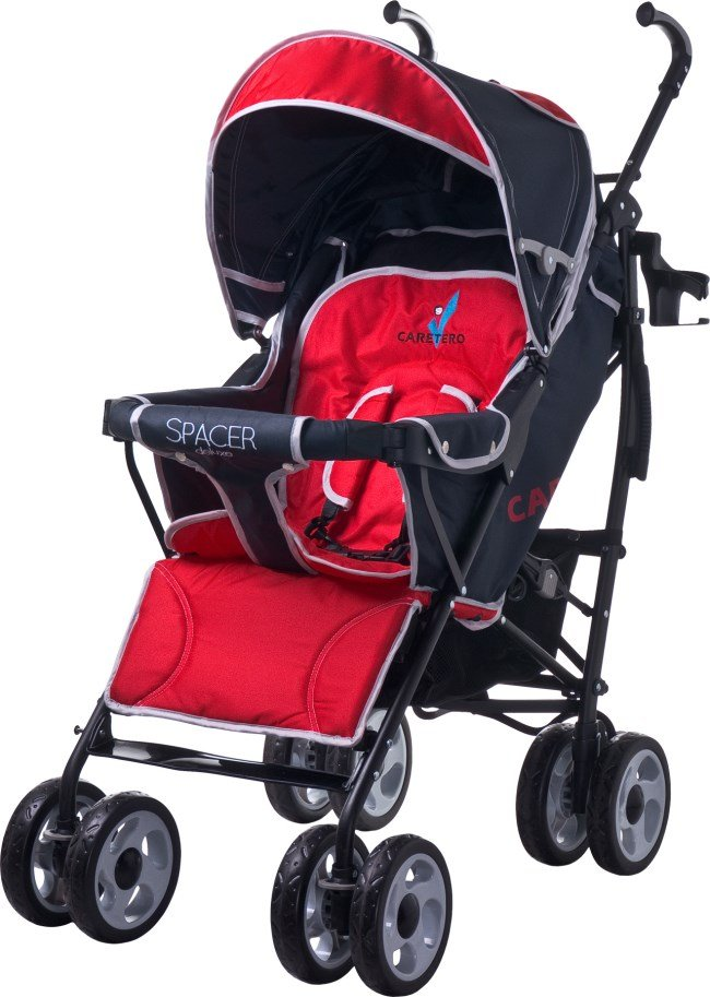 Коляска  Caretero  SPACER DELUXE   RED