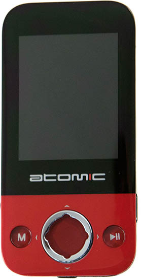 Mp3 плеер Atomic S-130 black/red