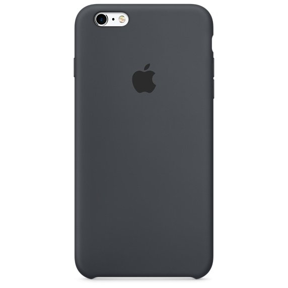 Чехол  Apple для iPhone 6s Plus Silicone Case  MKXJ2ZM/A Charcoal Gray
