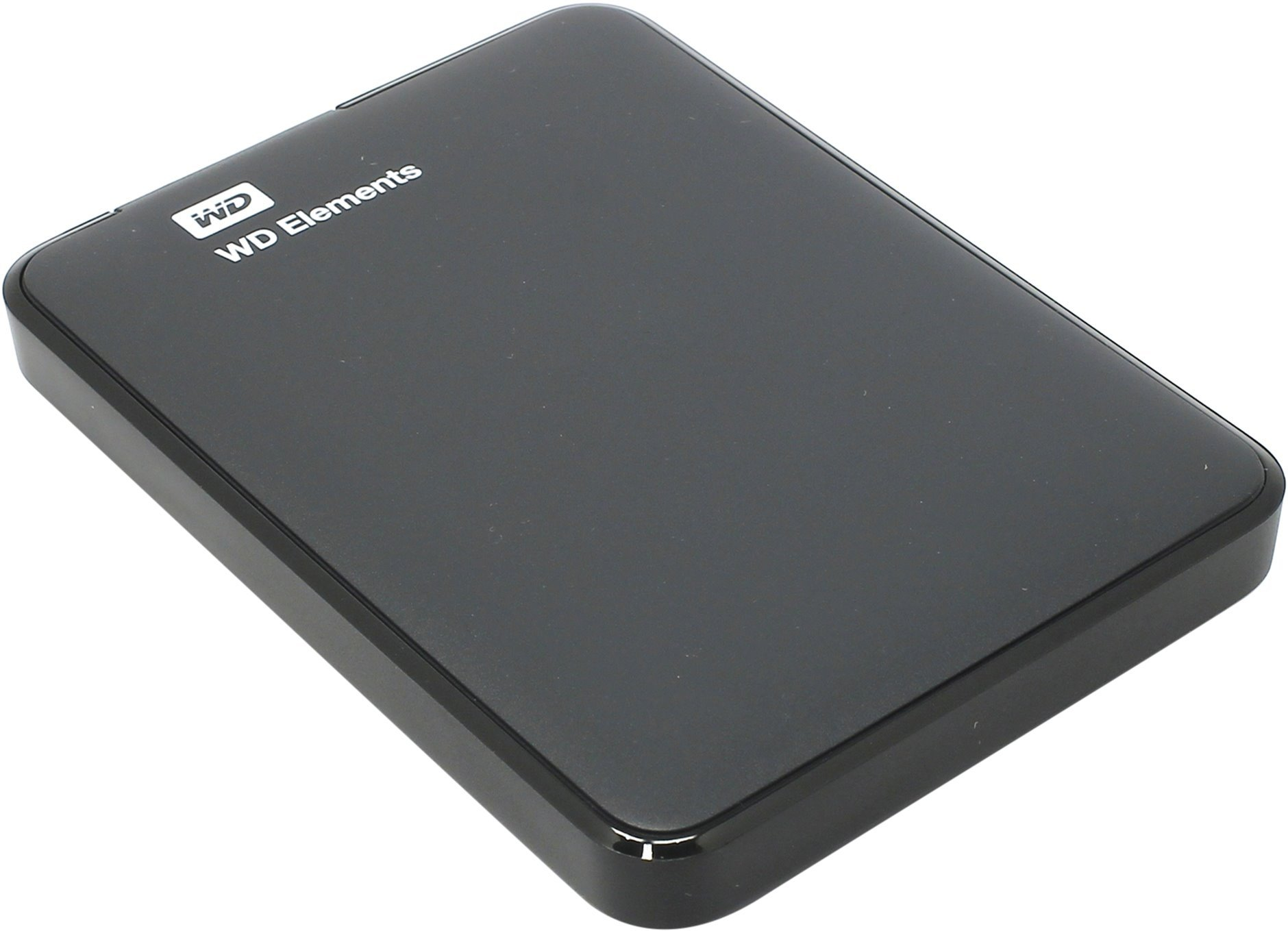 Внешний жёсткий диск WD Elements Portable 500Gb WDBUZG5000ABK-EESN Black