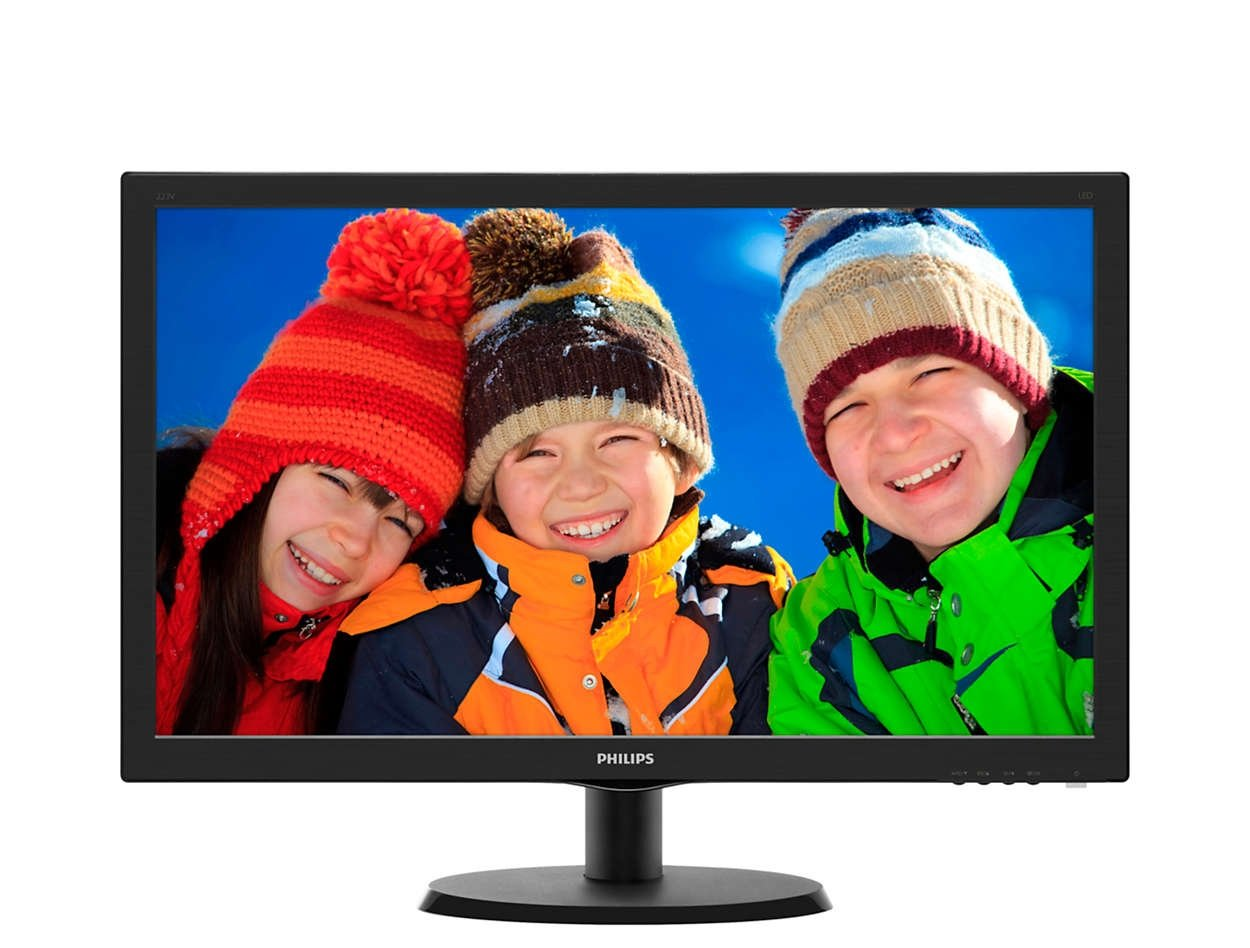 Монитор Philips 223V5LSB/01