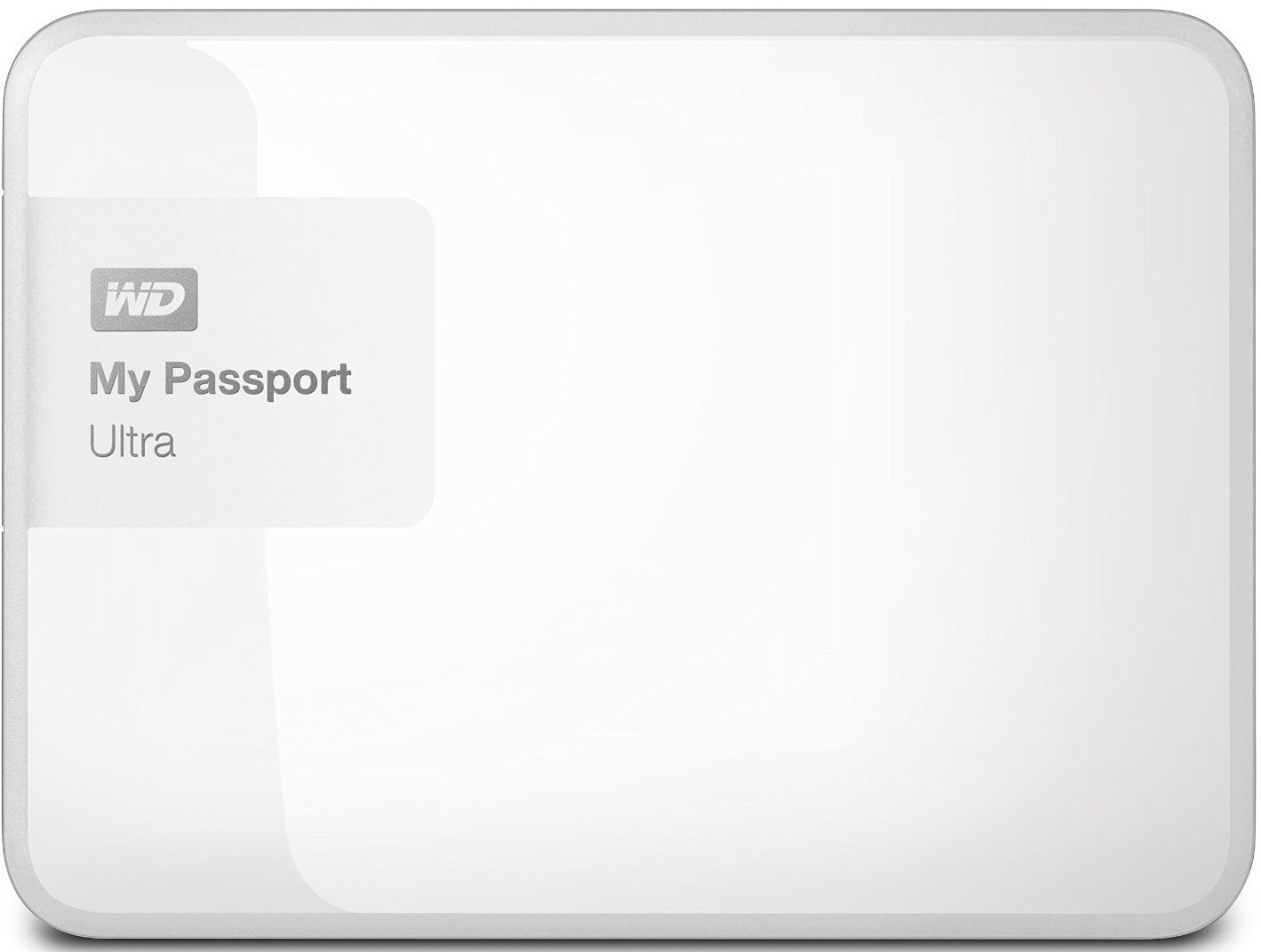 Внешний жёсткий диск WD My Passport Ultra 1Tb  WDBGPU0010BWT-EESN White