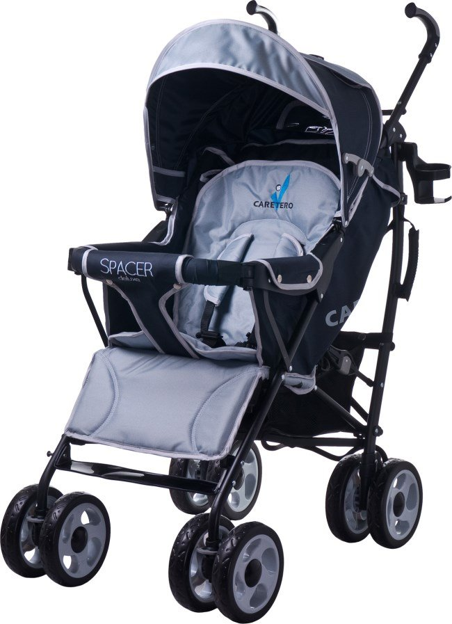 Коляска    Caretero  SPACER DELUXE GREY