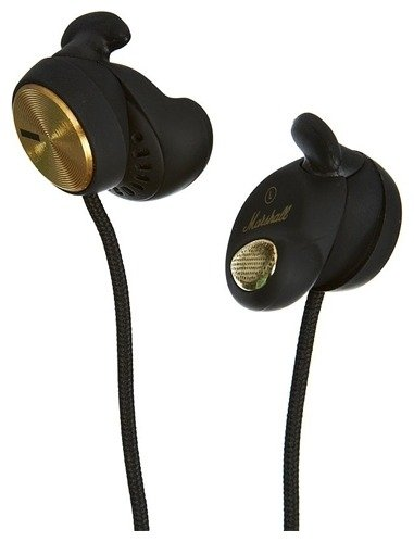 Наушники Marshall Minor FX Black Earphones w/Mic & Remote 4090445