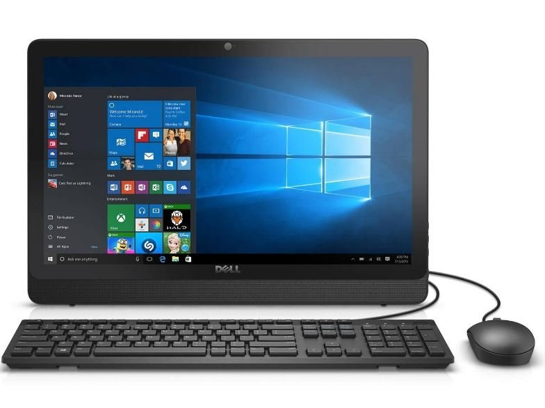 Моноблок Dell Desktop Inspiron 20 3052-5437 Black