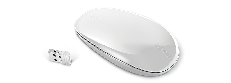 Мышь Acme Wireless Touch Mouse USB MW09 White
