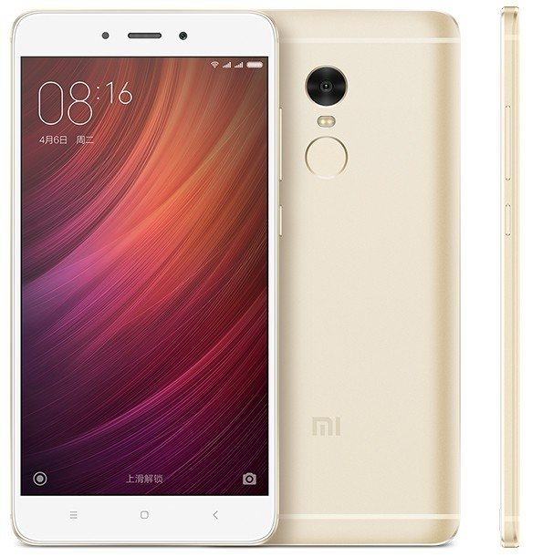Мобильный телефон Xiaomi  Redmi Note 4 Global 3GB/32GB  Gold