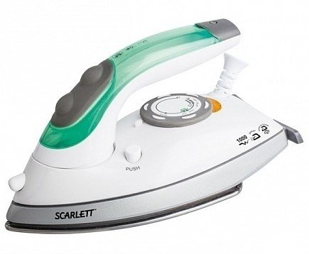 Электроутюг  Scarlett SC-SI30T01  White with green
