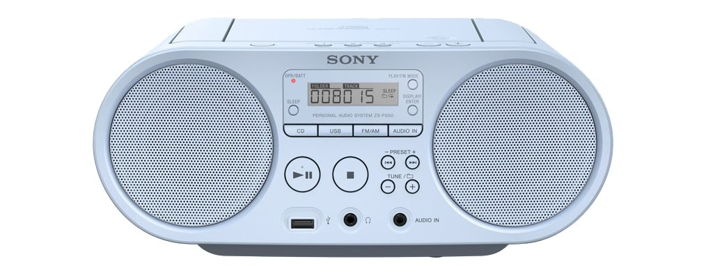 Магнитола Sony ZS-PS50 синий