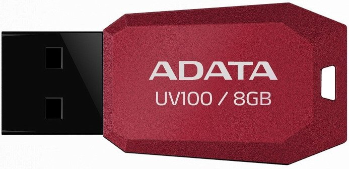 USB Flash A-Data DashDrive UV100 8Gb (AUV100-8G-RRD)