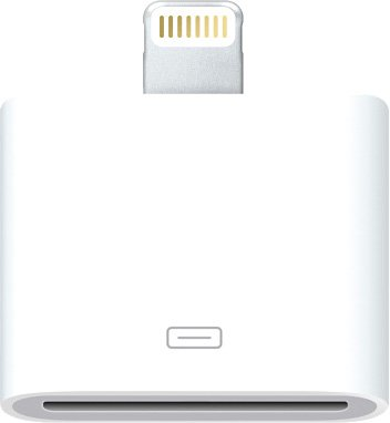 Адаптер Apple Lightning to 30-PIN adapter MD823ZM/A