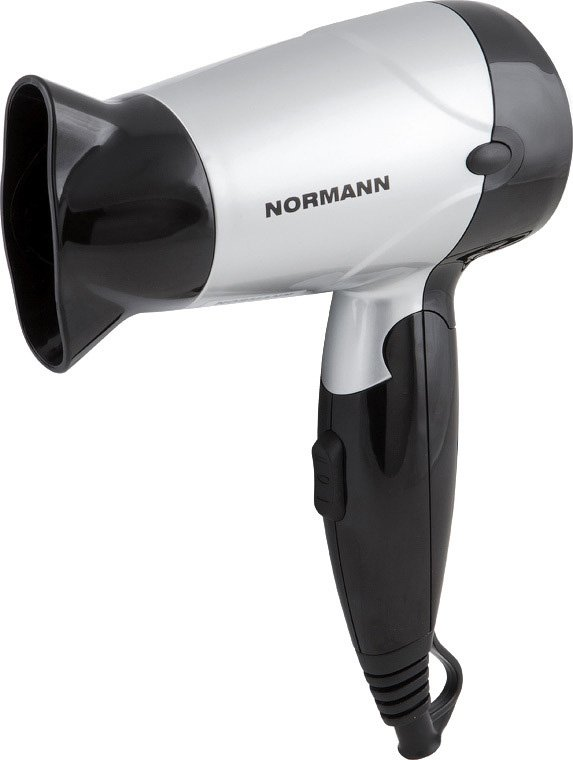 Фен  Normann AHD-417   Silver-Black