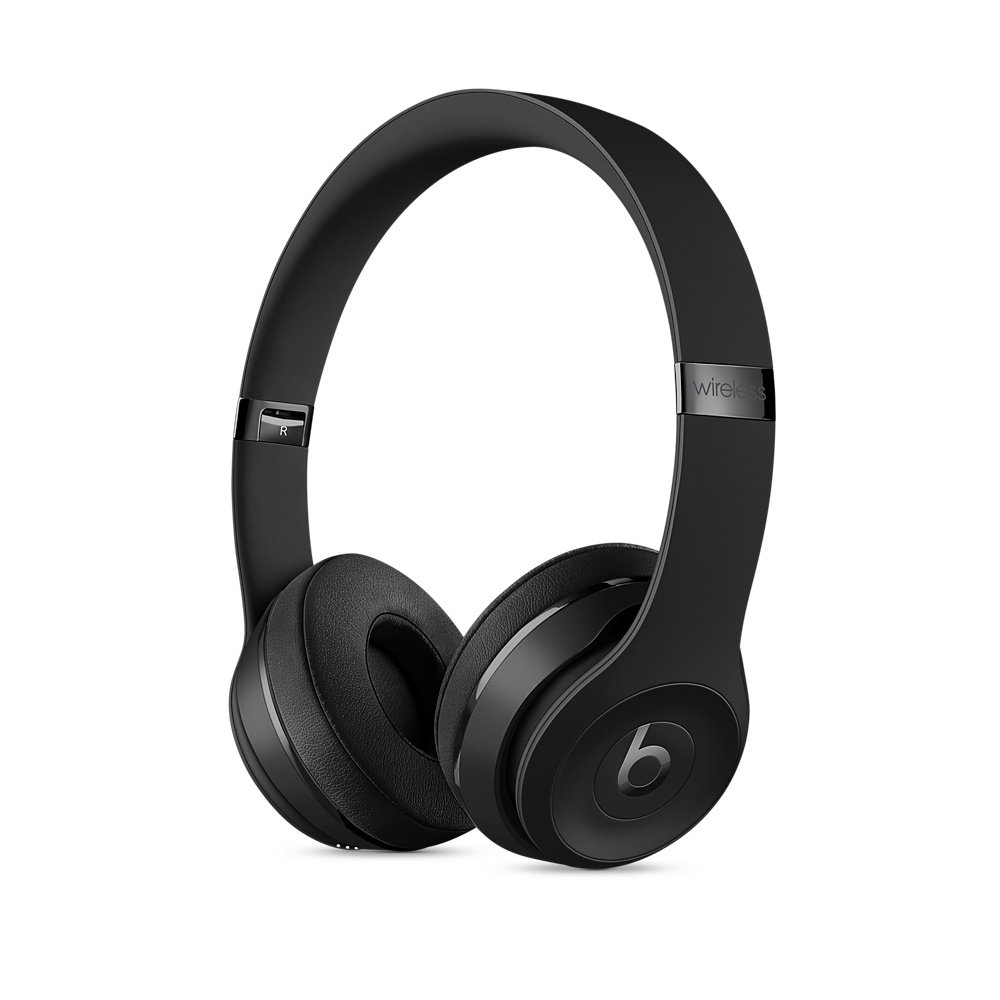 Наушники Beats Solo3 Wireless On-Ear Headphones - Black, Model A1796