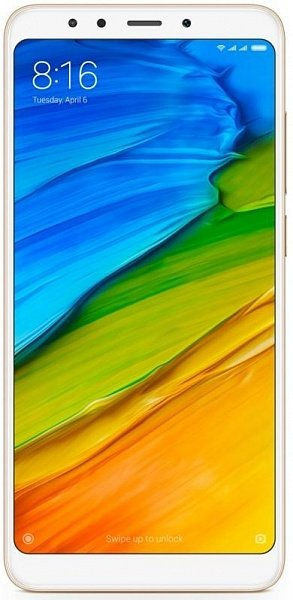 Смартфон  Xiaomi Redmi Note 5 (3Gb/32Gb)  Global   Gold ( + чехол)