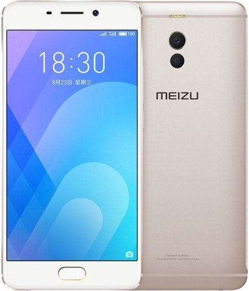 Смартфон  Meizu  M6 Note 3Gb/16Gb   золотой