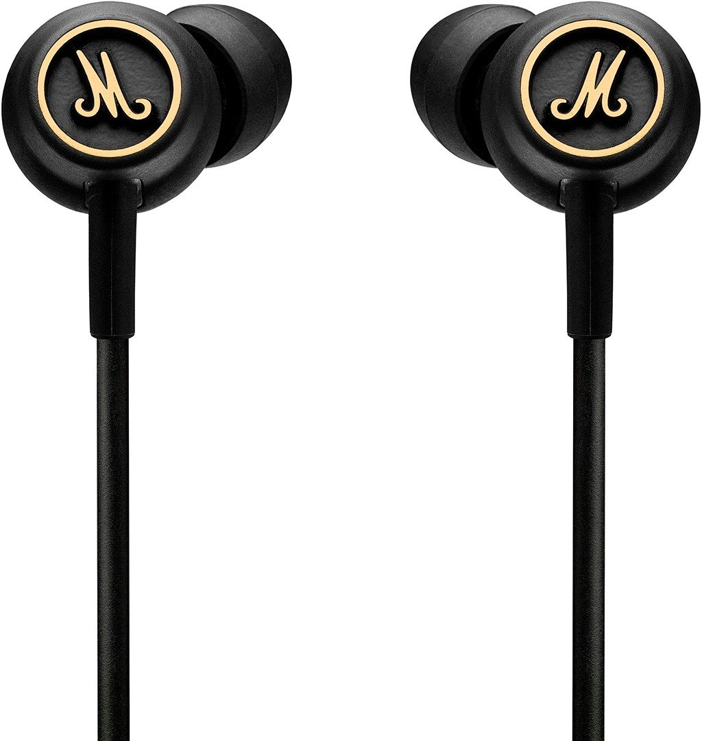 Наушники Marshall Mode EQ Headphones w/Mic & Remote Black & Brass 4090940