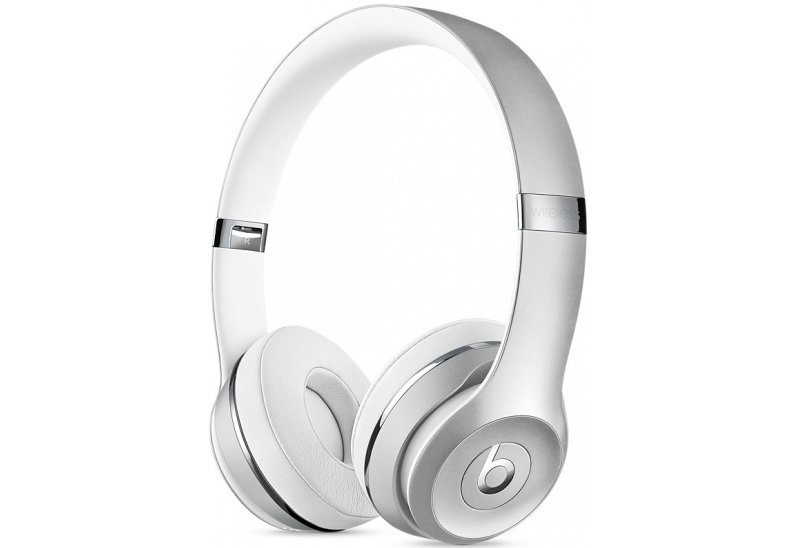 Наушники  Beats Solo3 Wireless  Silver (MNEQ2ZM/A)
