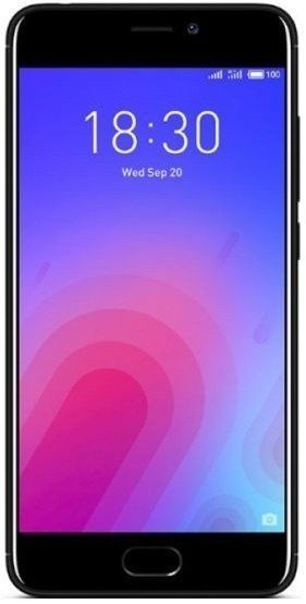 Смартфон  Meizu  M6 3Gb/32Gb  Black