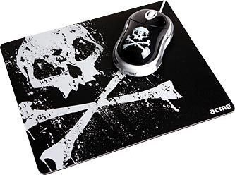 Мышь Acme Mouse + Mouse pad (pirate) USB MN-06W /PADPIRATE
