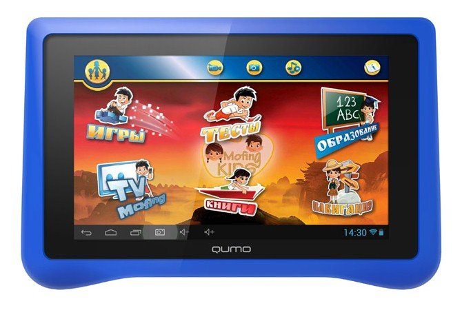 Планшет Qumo Kids Tab 16GB red
