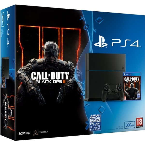 Игровая приставка Sony Playstation 4  1000GB Call of Duty: Black OPS 3 Special Edition