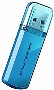 USB Flash Silicon Power 16GB Helios 101 Blue (SP016GBUF2101V1B)
