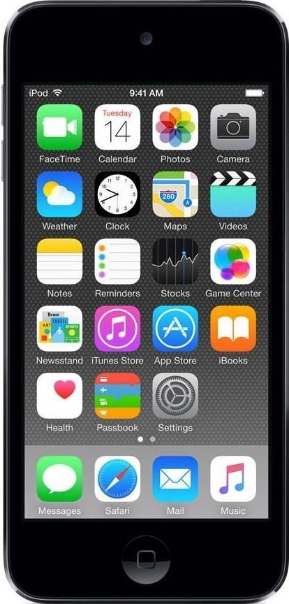 Плеер  Apple  IPOD TOUCH 64GB , MODEL A1574 MKHL2RP/A  SPACE GRAY