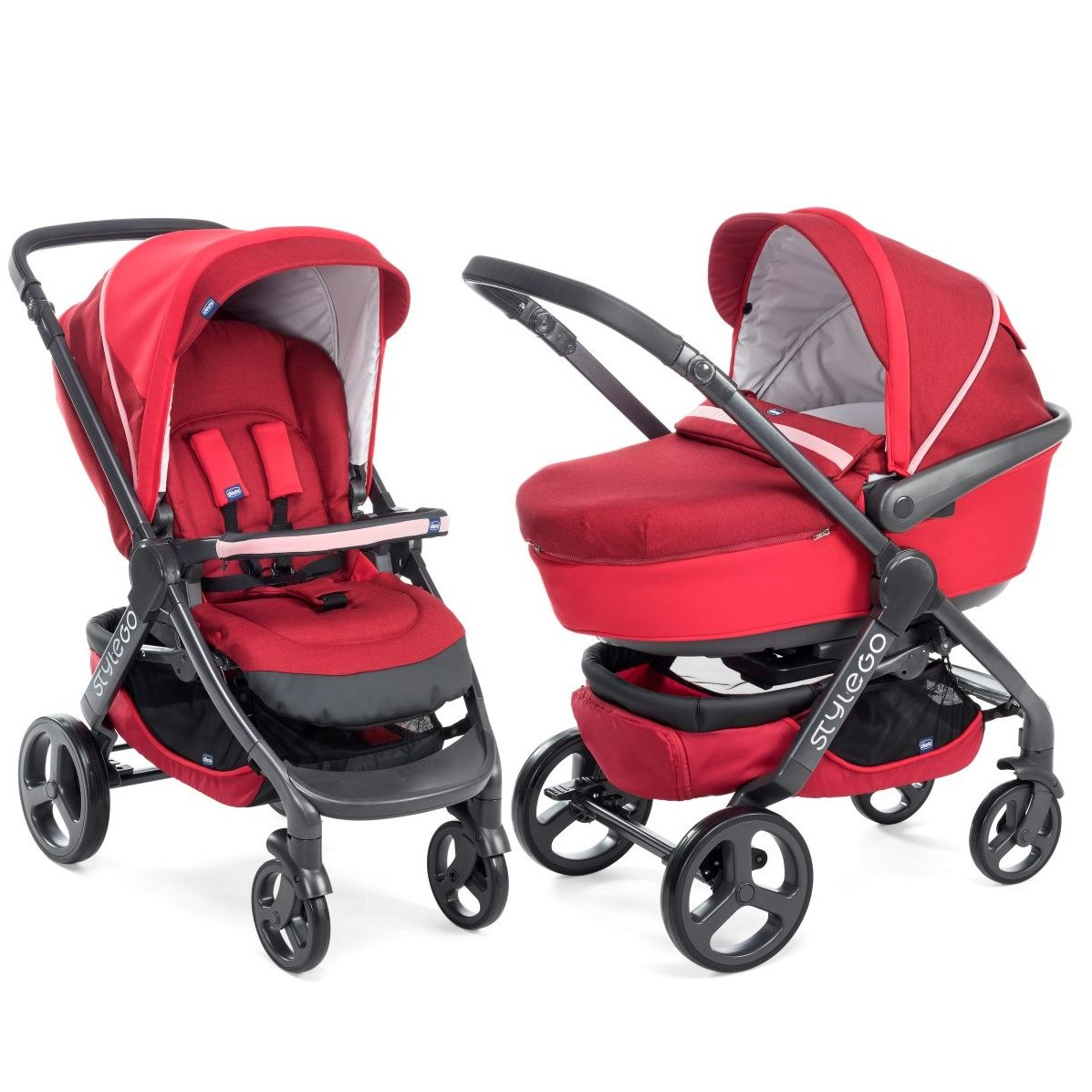 Коляска детская Chicco DUO StyleGO Red Passion