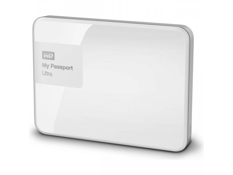 Внешний жесткий диск WD My Passport Ultra 500GB White WDBWWM5000AWT-EESN
