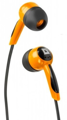 Наушники  Defender Basic 604  black + orange