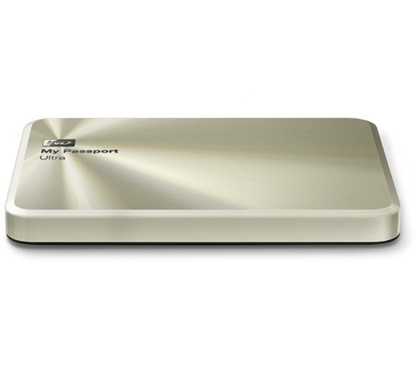 Внешний жёсткий диск WD My Passport Ultra Metal Edition 2Tb WDBEZW0020BCG-EESN Gold