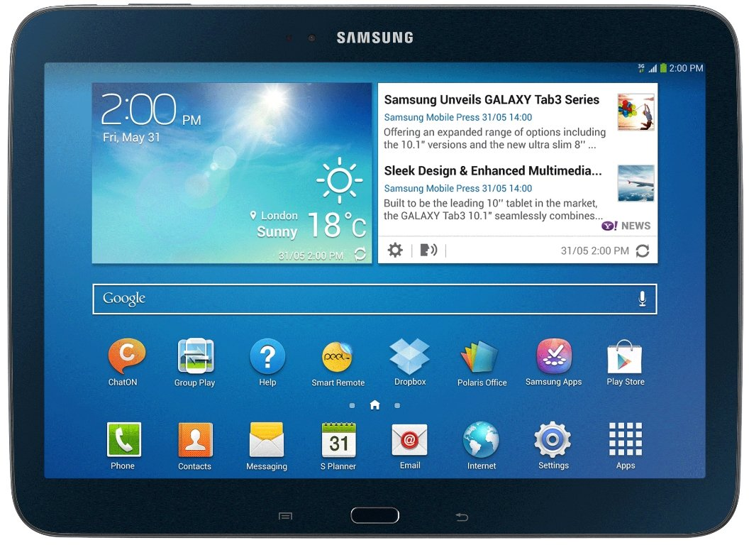 Планшет Samsung Galaxy Tab 3 10.1 16GB Jet Black (GT-P5210)