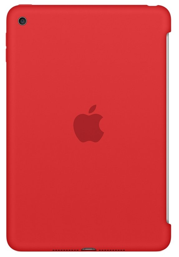 Чехол  Apple для iPad mini 4 Silicone Case MKLN2ZM/A Red