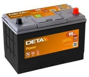 Аккумулятор DETA  POWER  ETN 0(R+) Korean B1 12V
