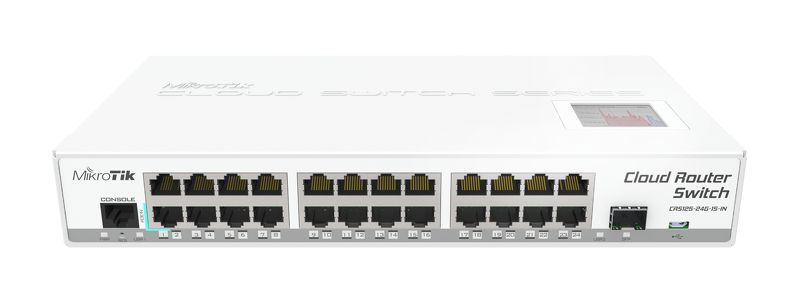 Коммутатор Mikrotik Cloud Router Switch CRS125-24G-1S-IN