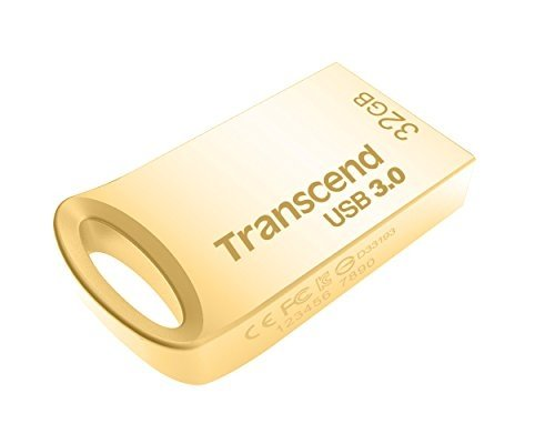 USB Flash Transcend 32GB JetFlash 710, Gold Plating (TS32GJF710G)